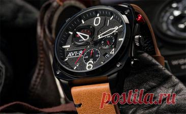Английские часы «AVI-8» — топ 3 модели на каждый день дешевле 18к рублей | Техпросвет | Яндекс Дзен
