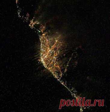 Российские города показали свысоты МКС. Найдите свой - Hi-Tech Mail.ru