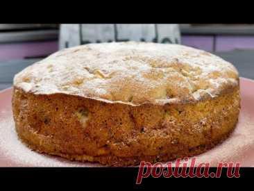 Я просто влюбилась в этот пирог! Яблоки и грецкие орехи – быстро и вкусно!
