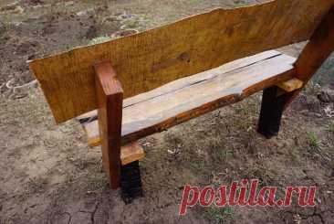 Как сделать дачную, удобную скамейку | ДАЧНАЯ ПОРА | Яндекс Дзен