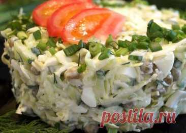 Вкусный и простой салат с капустой | ВокругСада.ру