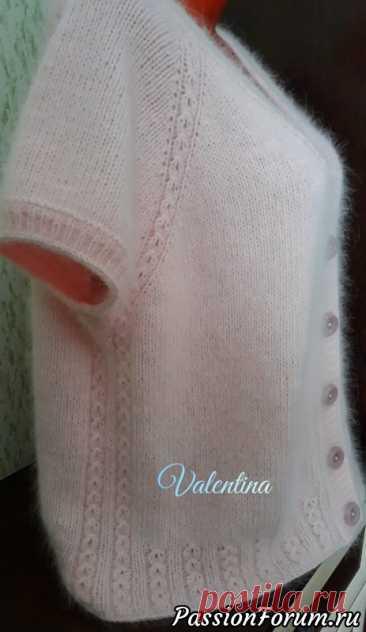 Мои работы из пуха норочки..пуловеры и жилет... | Вязание спицами. Работы пользователей