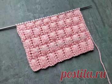 Легкий рельефный узор спицами для вязания носков, свитеров, шапок / Узор для начинающих | Вязание спицами CozyHands | Яндекс Дзен