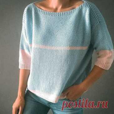 Очень простой и очень современный пуловер