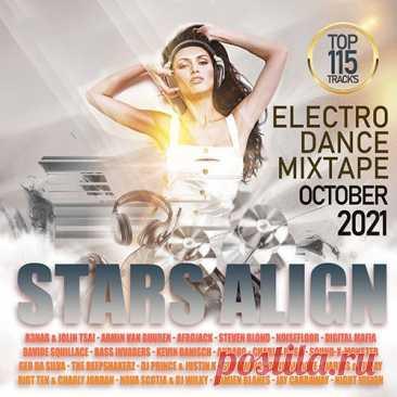 """The Stars Align: EDM October Mixtape (2021) Mp3 Парад звёзд электронной танцевальной музыки ожидает Вас на треках сборника с созвучным названием """"The Stars Align"""". Это смесь позитива, своеобразного «энергетического» настроя и хорошего заряда положительной энергии!Исполнитель: Various ArtistНазвание: The Stars Align: EDM October"""