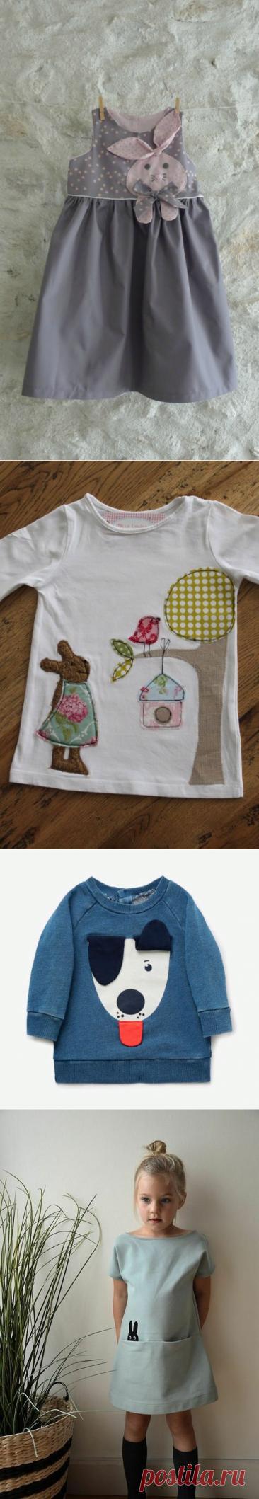Симпатичные аппликации для детской одежды. Подборка идей.   Handmade для всех   Яндекс Дзен