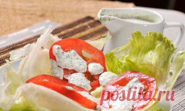 Как приготовить самую популярную в США заправку для салатов - соус Ранч. Просто и быстро на вашей домашней кухне   Привет, Андрей!   Яндекс Дзен