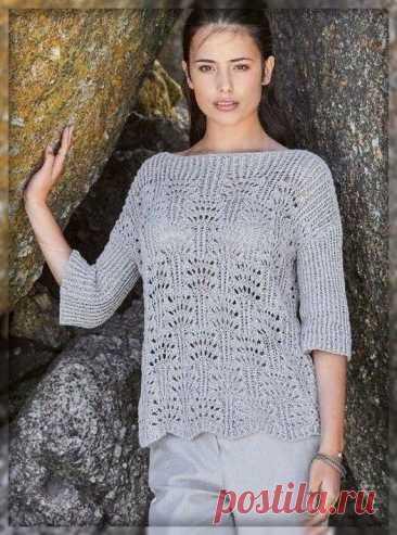 Вязание. Само очарование! Подборка моделей для вязания спицами. | 101 СЕКРЕТ | Яндекс Дзен