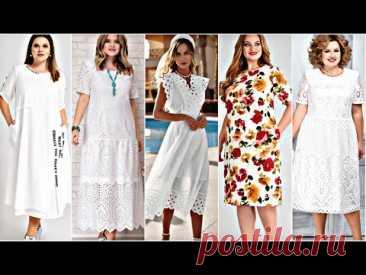 БЕЛЫЕ ПЛАТЬЯ !!! Красивые ЛЕТНИЕ платья из ХЛОПКА, ЛЬНА, ВИСКОЗЫ.