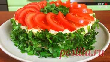 Приготовьте такой шикарный слоеный салат на 23 февраля, порадуйте вкусным салатом своих мужчин | Сейчас Приготовим! | Яндекс Дзен