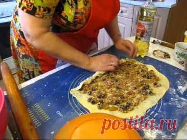 Рецепт штруделя. Штрудель фирменный с орехами, вишней и лимоном