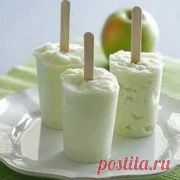Натуральное малокалорийное мороженое!