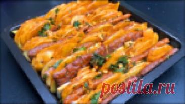 Картофельная запеканка по новому рецепту - съели целый противень и попросили добавки