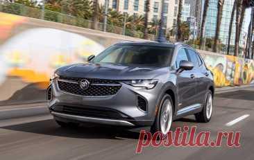 Кросовер Buick Envision 2021 нового поколения стал доступнее