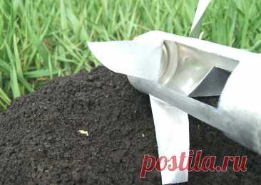 Как легко избавиться от кротов на своем участке или огороде? | Поделкин | Пульс Mail.ru Показываю как сделать простое приспособление, которое поможет легко избавиться от кротов на вашем участке или огороде.