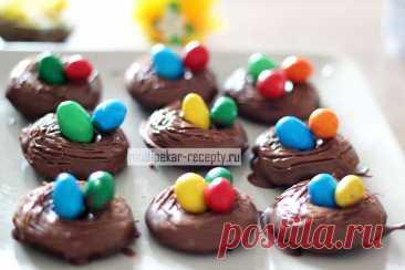 Шоколадные пончики на Пасху в мультипекаре