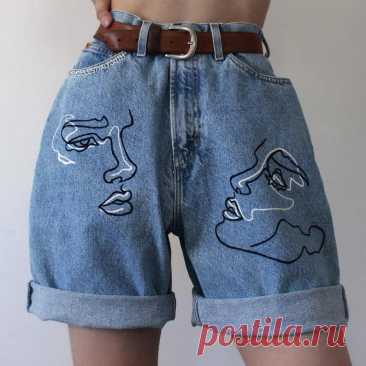 Пользовательские руки окрашенные джинсы пользовательские руки | Etsy