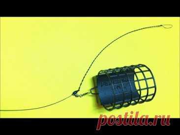 Фидерная оснастка Инлайн. Фидер для начинающих. Лайфхаки и самоделки для рыбалки. Рыбалка 2021 - YouTube