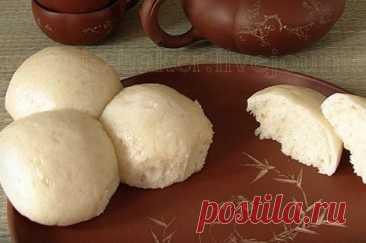 Китайские паровые булочки (Маньтоу) рецепт – Китайская кухня: Выпечка и десерты. «Еда»