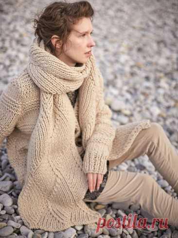 Вязаные шарфы для женщин
