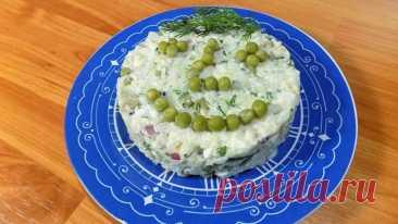 Рыбный салат с рисом и яйцом. Салат из вареной рыбы Хочу поделиться с Вами своим видео рецепт приготовления вкусного и простого салата из вареной рыбы с рисом и яйцами. Салат получается вкусным, а готовиться он очень просто и легко.Ингредиенты для салата:500 гр. рыбы на ваш вкус 3 куриных яйца 1 свежий огурец 0,5 стакана сырого риса 1...