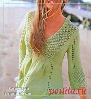 Пуловеры, туники, платья из немецких журналов. 20 новых моделей для вязания.   Все вяжут.соm/Everyone knits.com   Яндекс Дзен