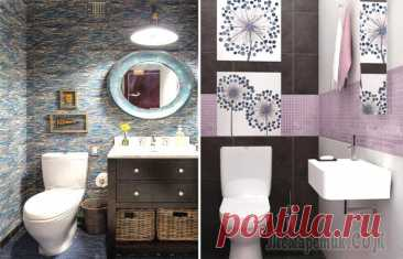 Modern ideas of design of a bathroom for a practicality and absolute comfort Starting repair in the apartment, many think of and what will be a bathroom. And in most cases for finishing choose a tile and a tile that really plays an important role from a sight point...