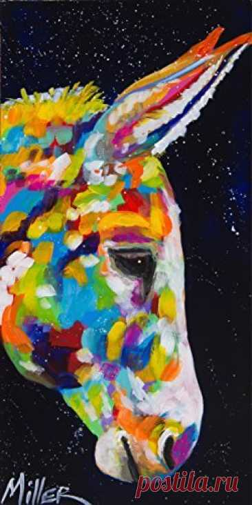 The Zedign House Painting: Donkey Dreams  https://www.amazon.com/exec/obidos/ASIN/B01MEEZXX0/zdn-20
