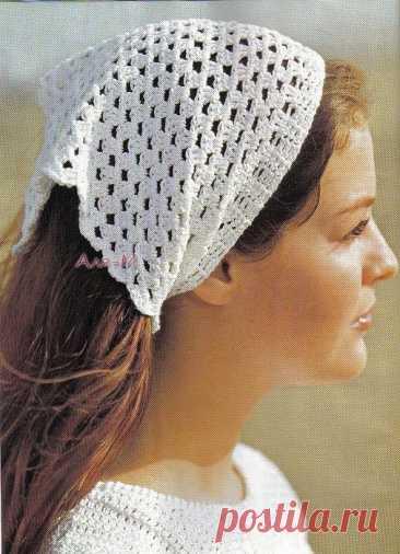 Подборка схем для вязания летних косынок (Вязание крючком) – Журнал Вдохновение Рукодельницы
