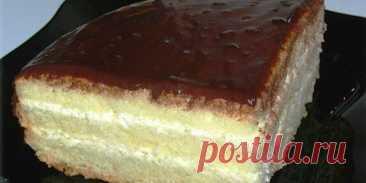 Бисквитный торт «Чародейка». Вкус, знакомый с детства - Лучшие рецепты