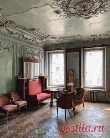 (12) Петербургский доходный дом начала XX века, интерьеры бывшей гостиной в одной из квартир - Полезные советы и секреты на все случаи жизни - медиаплатформа МирТесен