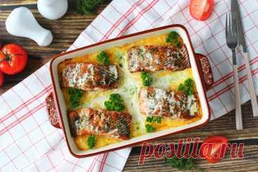 Картофельная запеканка с рыбой в духовке рецепт с фото пошагово - 1000.menu