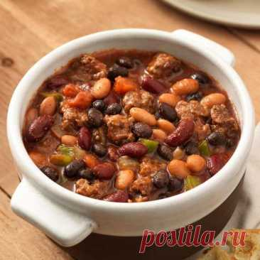 Фасолевый суп с говядиной. Мясной сытный суп, который всегда выручит к ужину - Сабрина