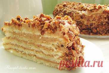 Рецепт торта Добош с пошаговыми фото