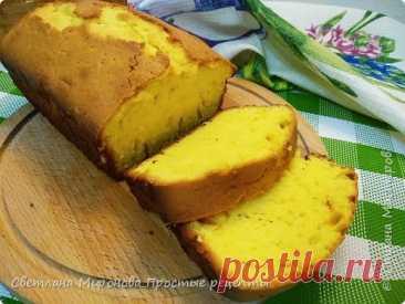 Лимонный кекс | Нежный, воздушный и очень вкусный!