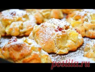 Нежное Яблочное печенье. Мягкое как булочки! | Кулинарим с Таней