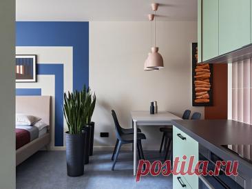 5 квартир площадью 35 кв. м с красивым интерьером, в которых классно жить | ИДЕИ ВАШЕГО ДОМА | Яндекс Дзен