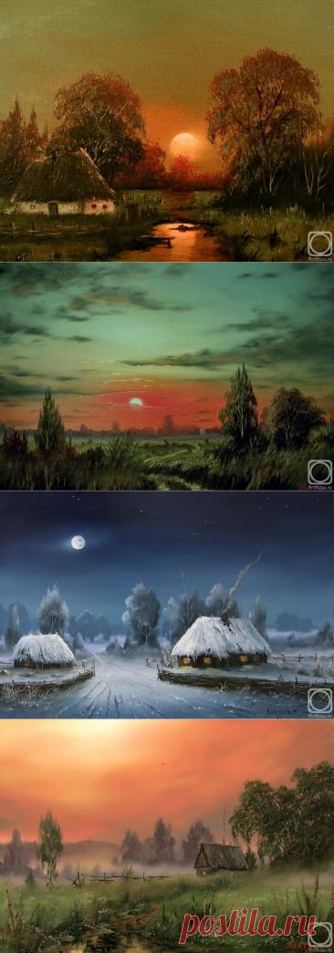 Пейзажи художника Лактаева Романа.