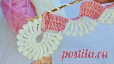 Bu Modeli Arap Kanalında Buldum😍 Süper Easy Crochet Knitting How to crochet Tığ İşi Kolay Örgü Model