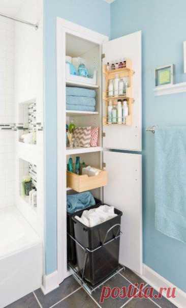 Советы для правильной организации маленькой ванной Поддержание порядка в маленькой ванной комнате — это не такая и большая проблема, как может показаться на первый взгляд. Главное — правильно подойти к вопросу организации пространства и хранения вещей...