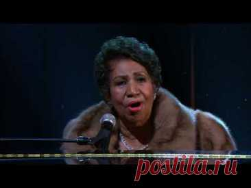"Aretha Franklin  sings ""(You Make Me Feel Like) A Natural Woman"""