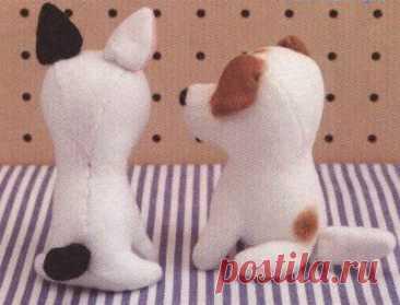 Японские собачки: выкройки и мастер-класс / Это интересно / Все о куклах и игрушках / Oytoy