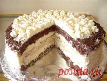 Торт «Кокосовый» : Торты, пирожные