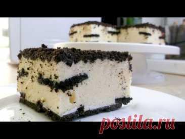 Торт Без Выпечки Из Печенья С Воздушным Суфле