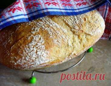 Хлеб без замеса «Проще не бывает» – кулинарный рецепт