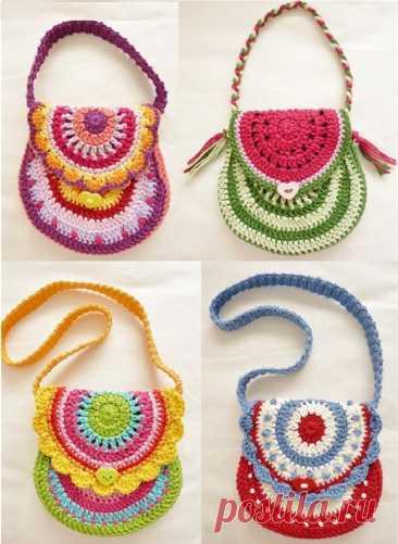 18 идей вязания сумок крючком