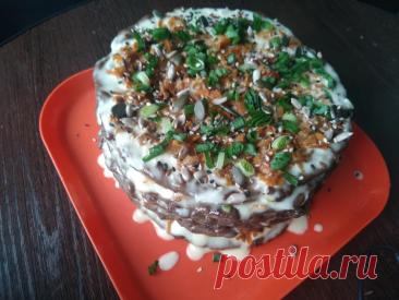Новый рецепт печёночного торта. Торт без пшеничной муки — этим он уникален. Торт получается более нежным,... Читай дальше на сайте. Жми подробнее ➡