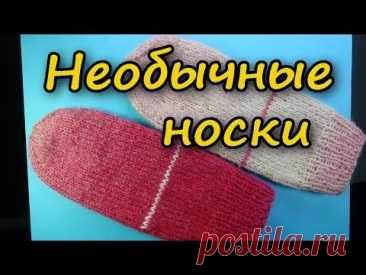 SUPER IDEA! The NEW WAY of KNITTING of SOCKS How to knit socks on spokes
