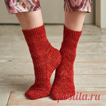 Вязаные носки «Frieze»