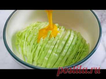 Такую ВКУСНУЮ Капуста я еще не ела! Легкий и новый рецепт капусты